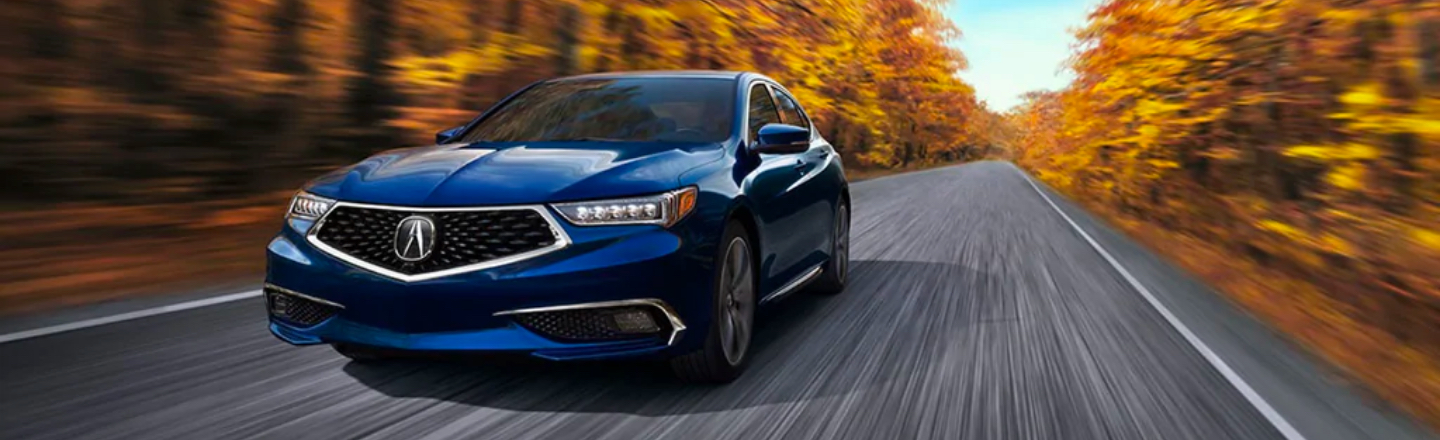 2020 TLX On Road