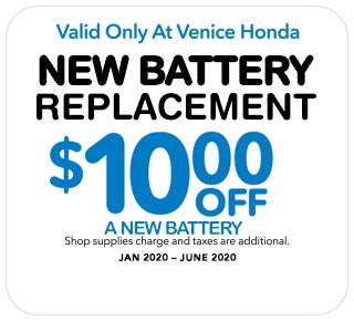New Battery Replacement