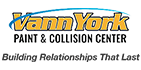 vann york paint and collision center logo
