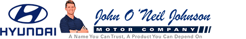 john o'neil johnson hyundai logo