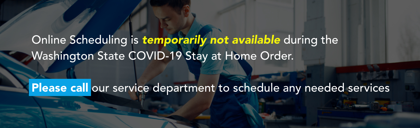 Online scheduling temporarily not available