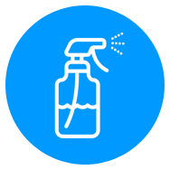 Moment-by-moment disinfecting for all spaces and high-touch areas
