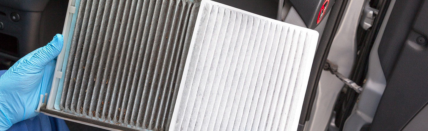 Cabin Air Filter Replacements In Our Toyota Service Center