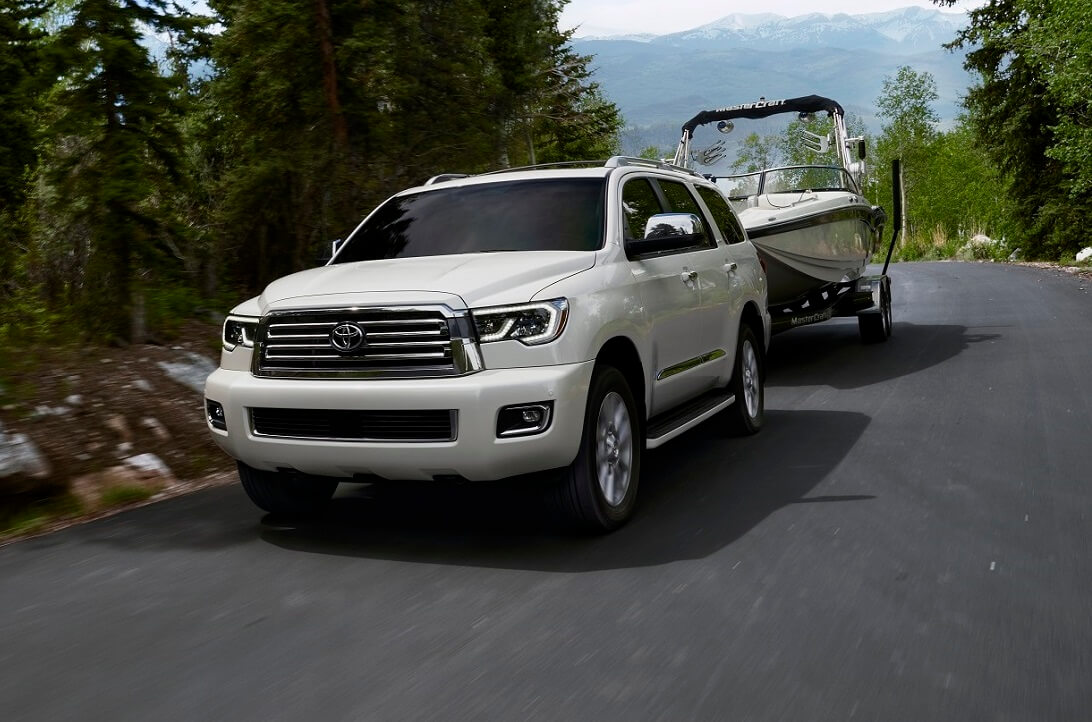 2020 Toyota Sequoia Engine Power