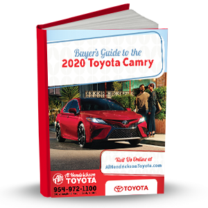 Buyer's Guide To The 2020 Toyota Camry