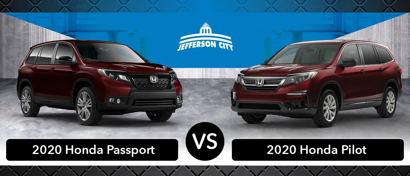 2020 Honda Passport vs. 2020 Honda Passport