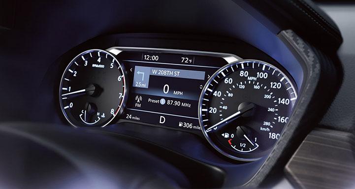 2020 nissan gauges image