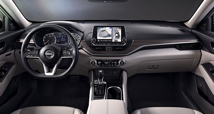 2020 Nissan Interior View