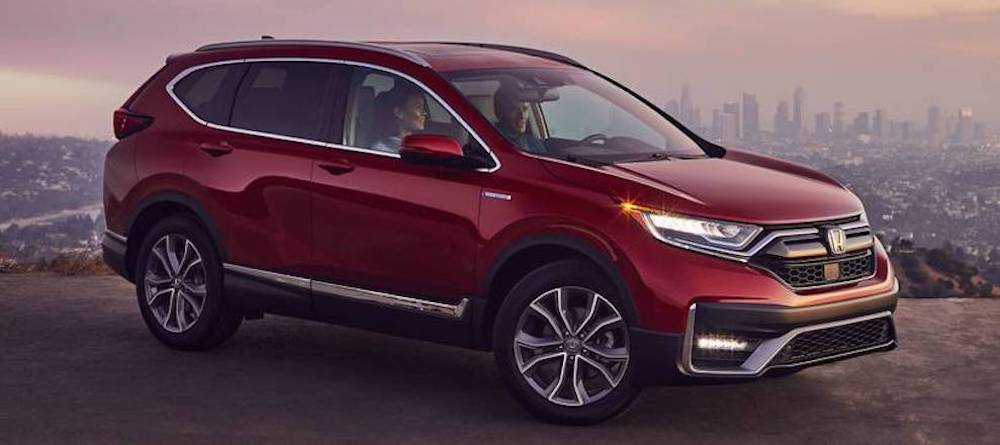 2020 Honda CR-V Hybrid Touring model