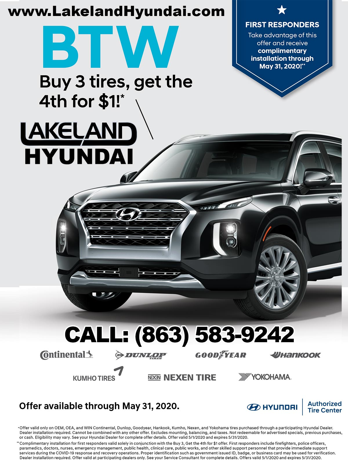 Special Offer from Lakeland Hyundai