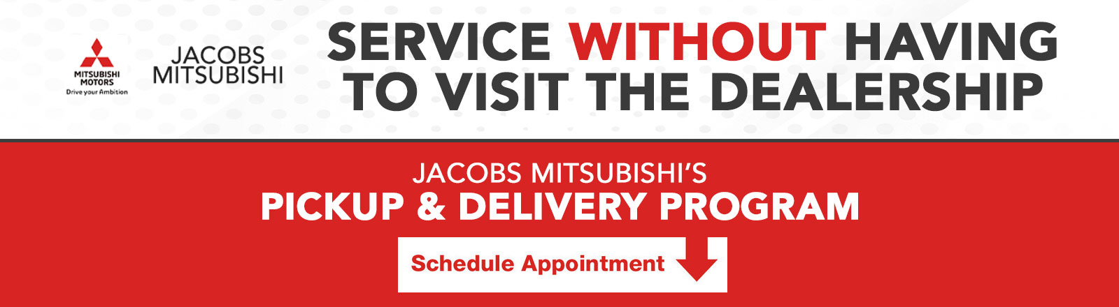 Service Without Having To Visit The Dealership | Jacobs Mitsubishi's Pickup & Delivery Program