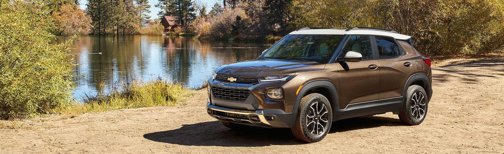 2021 Chevrolet Trailblazer SUV On Road