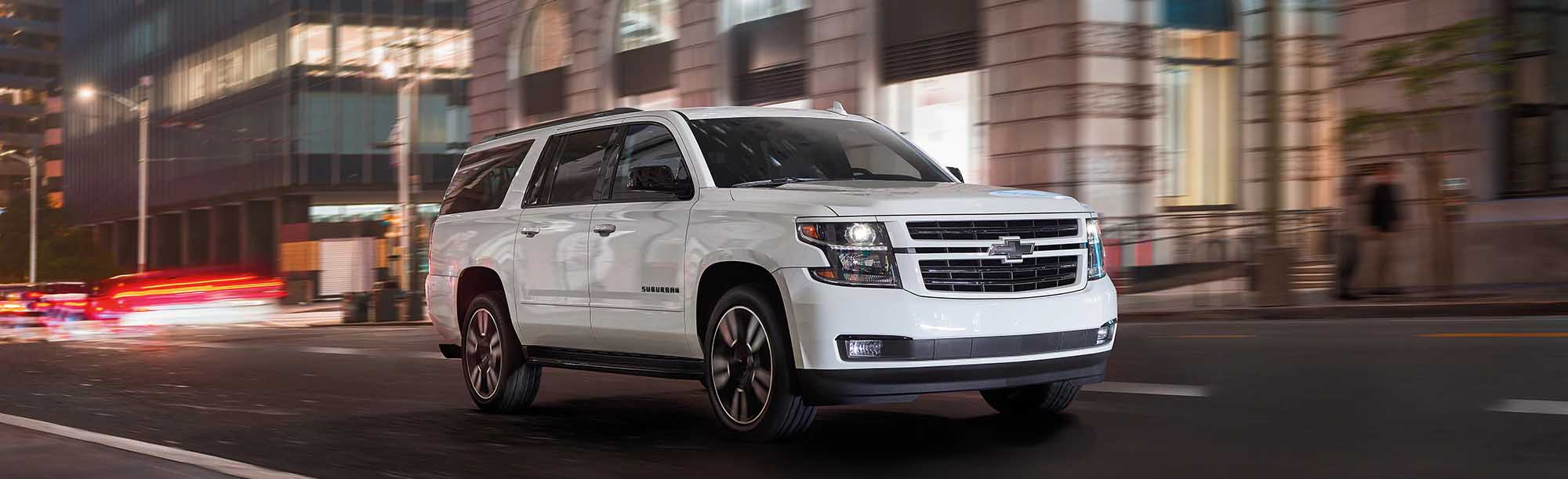 2020 Chevrolet Suburban SUV On Road