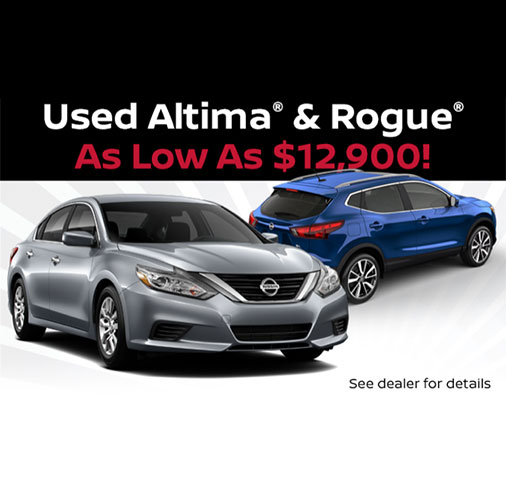 Used Altima & Rogue