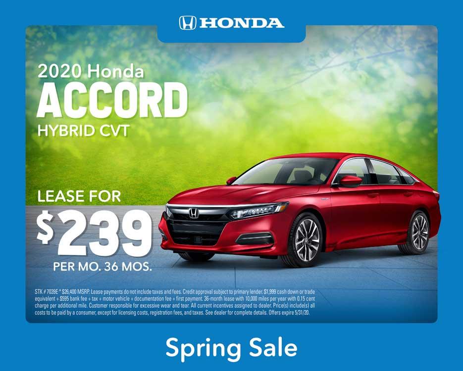 2020 Accord Hybrid CVT