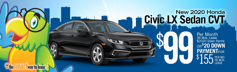 2020 Civic Sedan LX CVT
