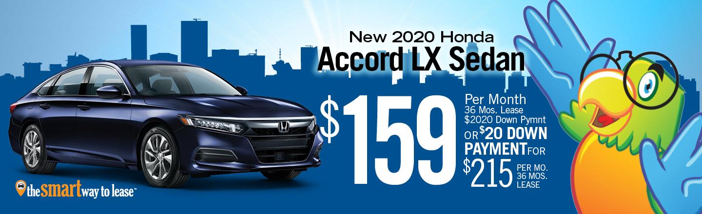 2020 Accord LX Sedan Auto