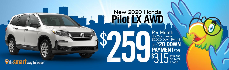 2020 Pilot LX AWD