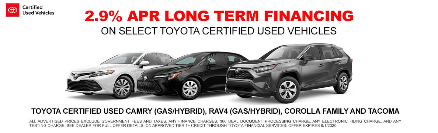 Long Term Financing - Used