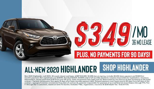 All-New 2020 Highlander!