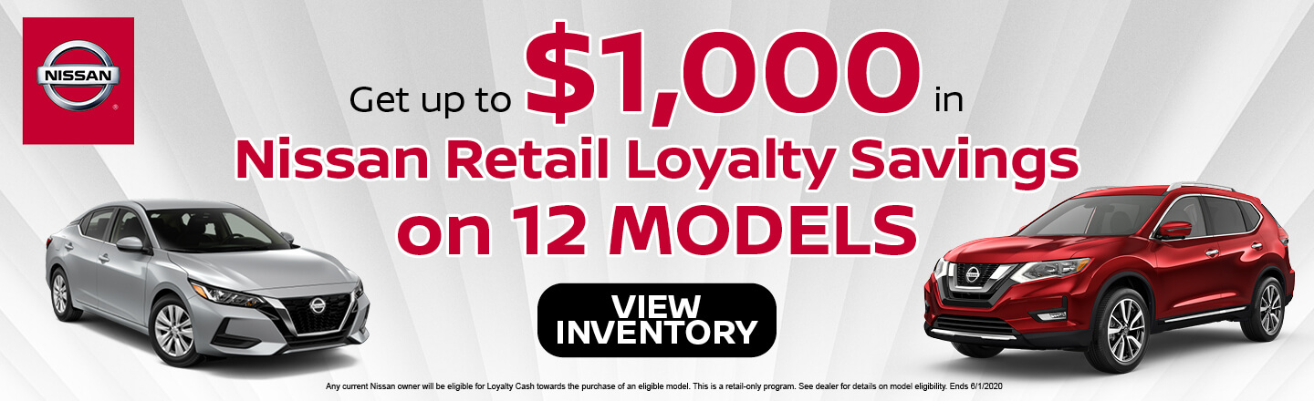 Nissan Retail Loyalty Savings