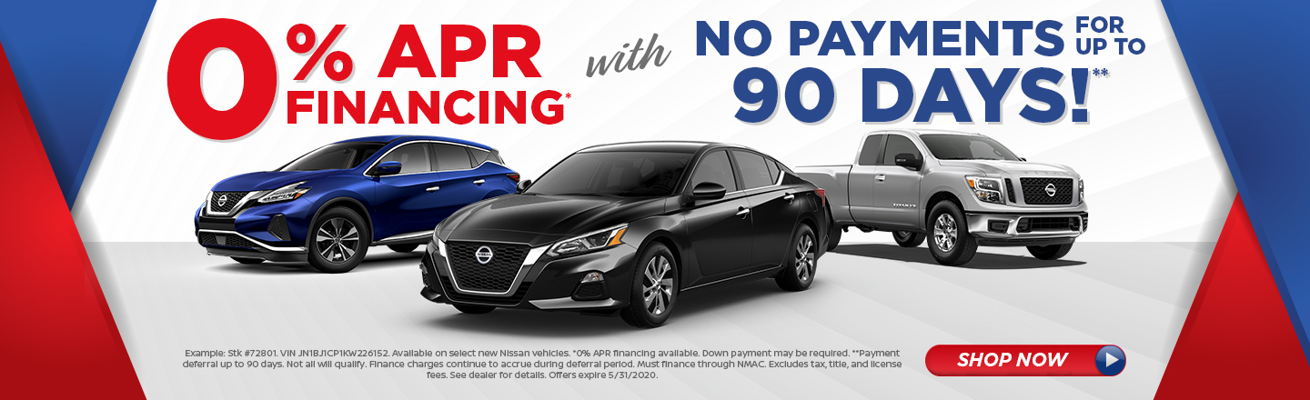 Special Financing Offer on Select Models