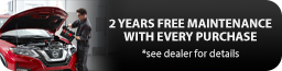 2 Years Free Maintenance With Every Purchase
