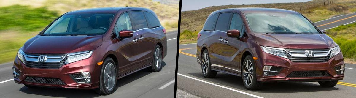 2020 Honda Odyssey vs 2019 Honda Odyssey