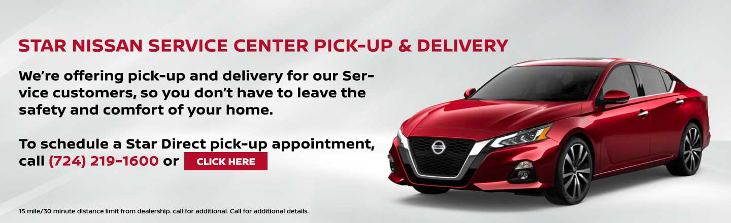 Service Home Delivery and Pick-Up