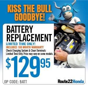 Battery Replacement - $129.95