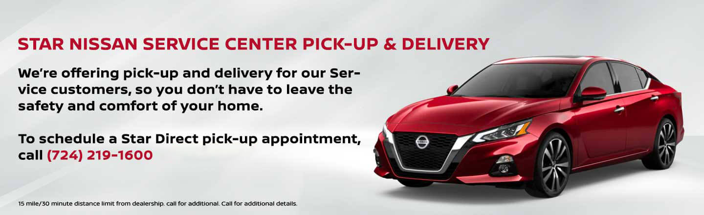 Service Pick-Up and Home Delivery