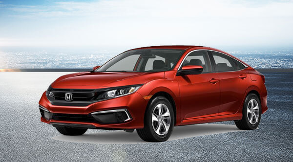 2020 Civic CVT LX Lease Offer