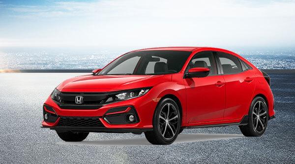 2020 Civic Hatchback Sport CVT Lease Offer