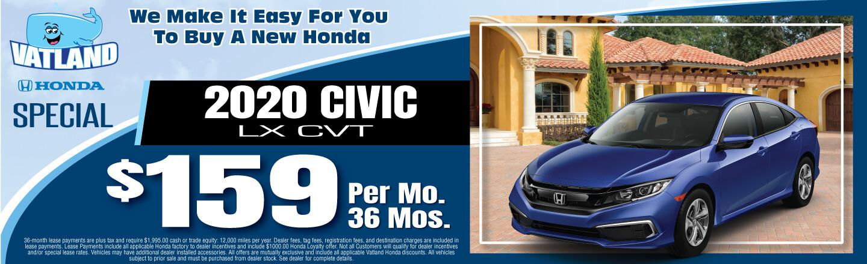 2020 Civic LX