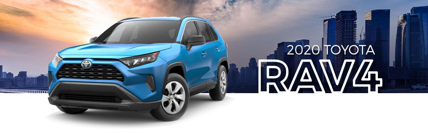 Enhance Your Kirkland, WA, Adventures With A 2020 Toyota RAV4 SUV