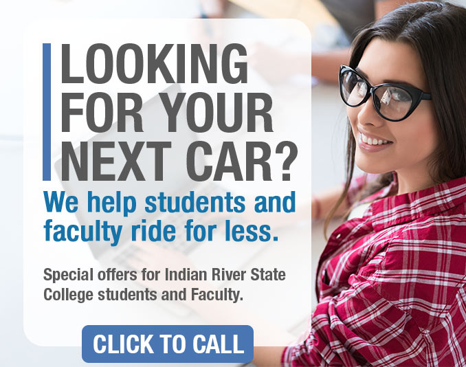 Special offers for Indian River State College students and Faculty