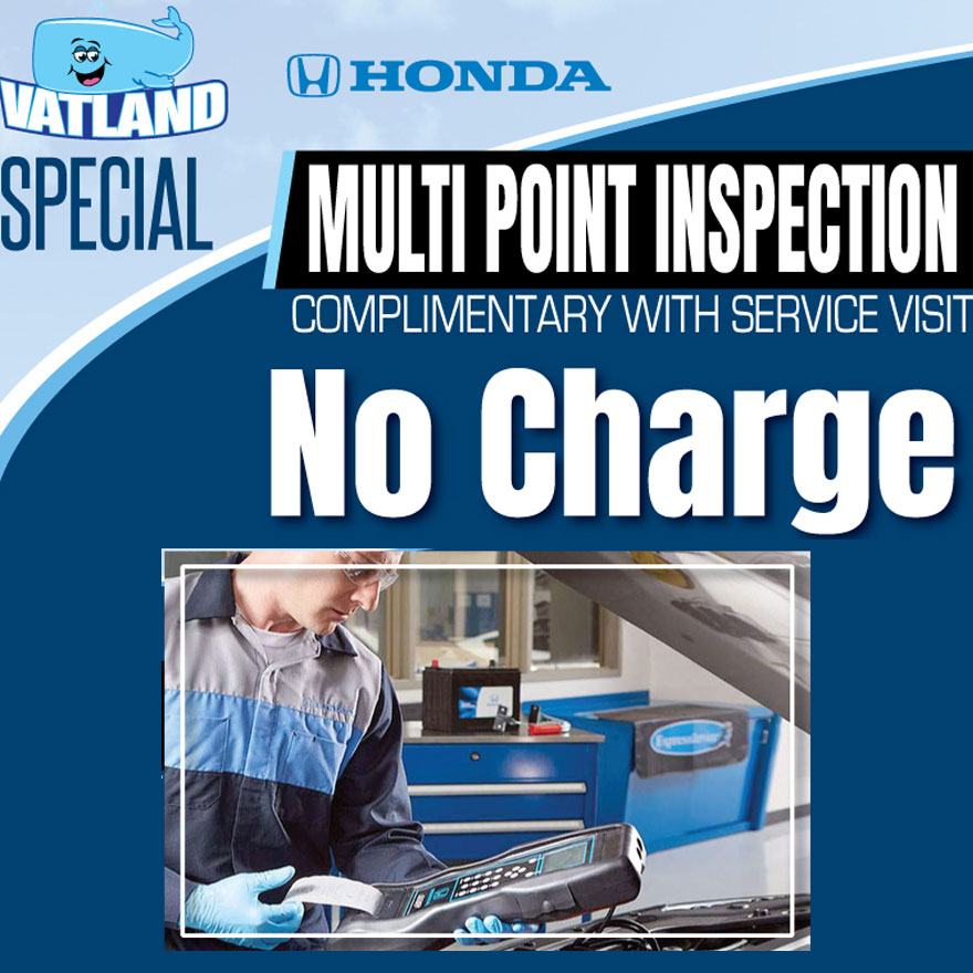 Honda Multi-Point Inspection