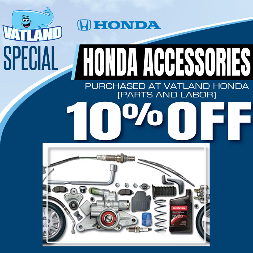 Dealer Install Honda Accessories