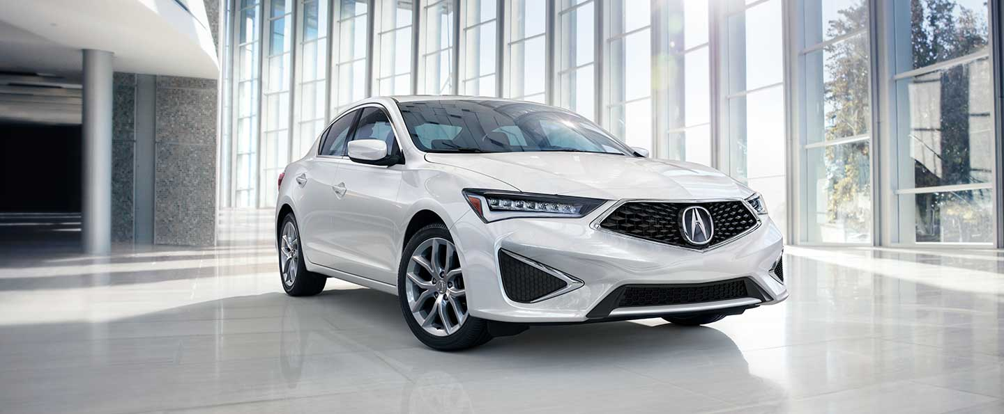 Rear view of 2020 Acura ILX