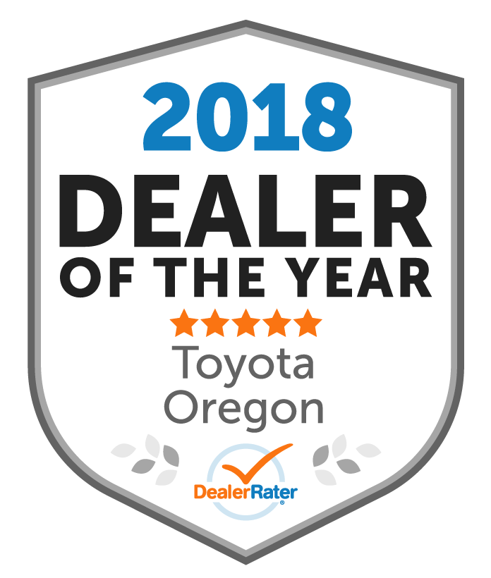 2018 dealer rater dealer of the year award