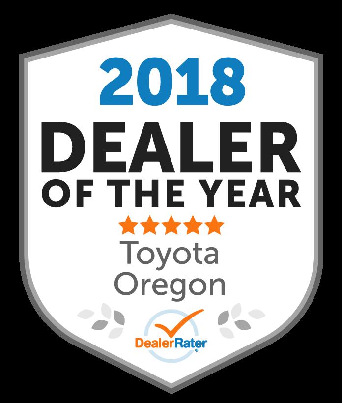 2018 dealer rater dealer of the year award