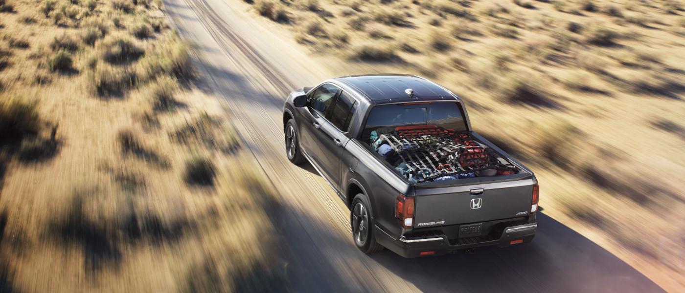 2020 Honda Ridgeline payload