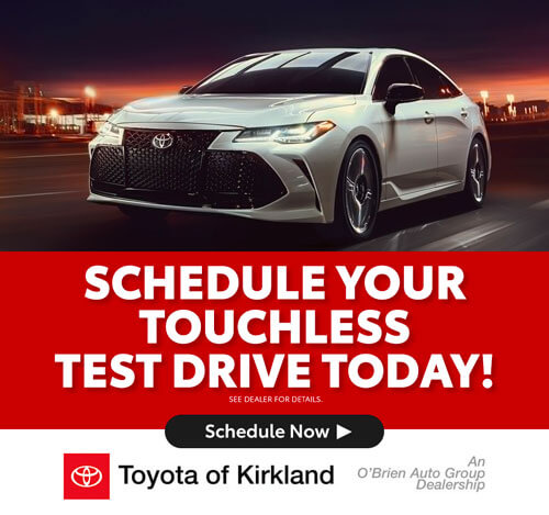 Schedule your touchless test drive today