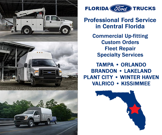 Commercial & Fleet Services | Florida Ford Trucks