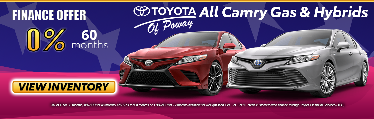 All Camry Finance Specials