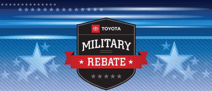 Toyota Military appreciation offer for Members of the US Military