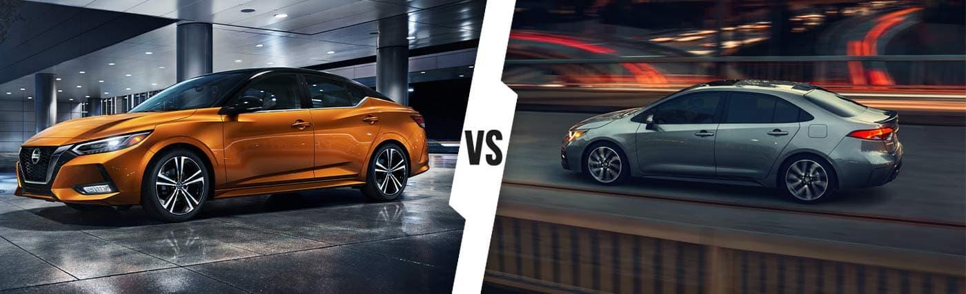2020 Nissan Sentra vs. Toyota Corolla In Kingsport, TN