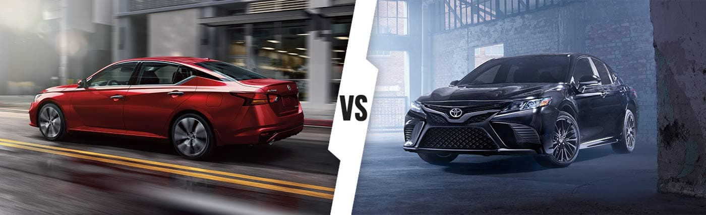 2020 Nissan Altima vs. 2020 Toyota Camry In Kingsport, Tennessee