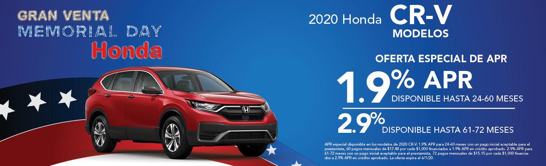 2020 Honda CR-V Modelos