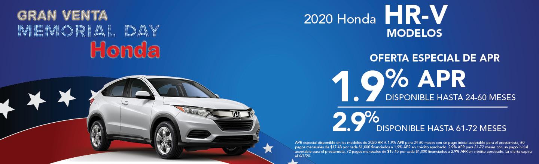2020 Honda HR-V Modelos